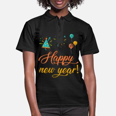 New Year New Year New Year's Eve New Year - Women's Polo Shirt