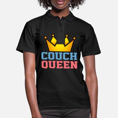 Cosy Couch queen queen design birthday gift - Women's Polo Shirt