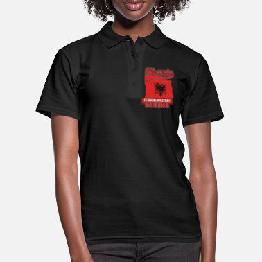Patriot In Albania, my story begins - Women's Polo Shirt