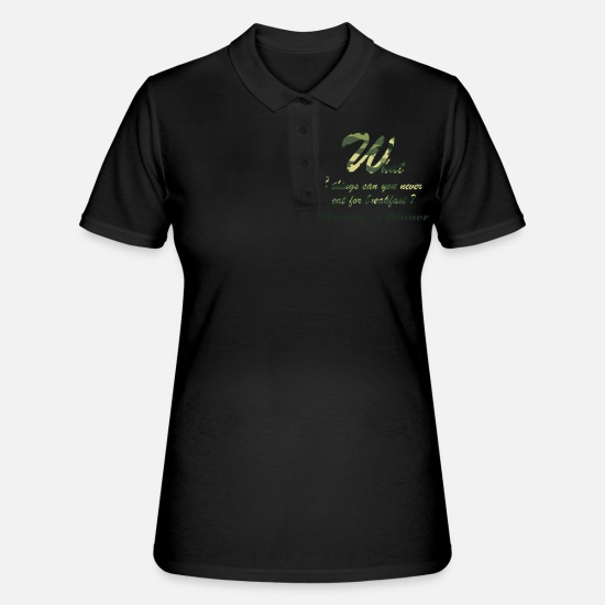 Lunch Polo Shirts - Lunch and Dinner 54 G - Women's Polo Shirt black