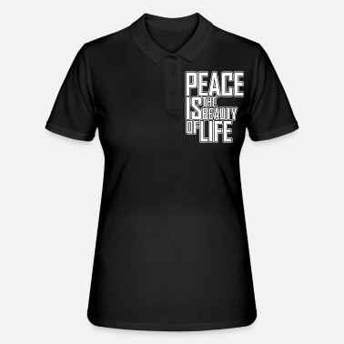 Modus Peace-modus chique modus gemoedsrust - Women's Polo Shirt