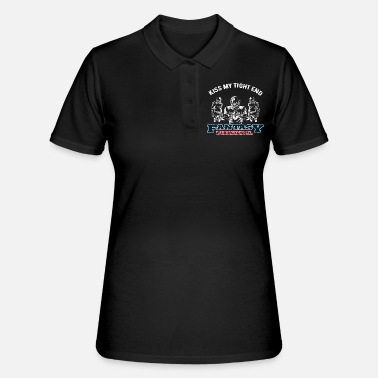 Fantasy Football Kiss My Tight End - Polo Femme