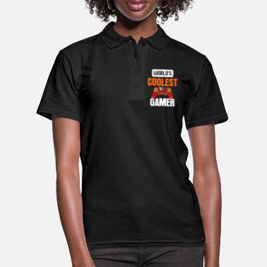 Switch Off Worlds Coolest Gamer - For Gamers - Women's Polo Shirt