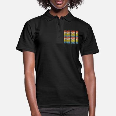 Verbot My Wife Says No Colorful - Frauen Poloshirt
