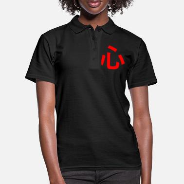 Katakana japanese kanji heart japan anime otaku weeb - Women's Polo Shirt