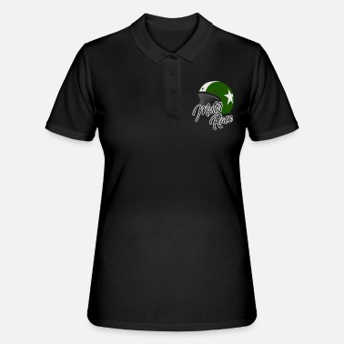 Motor Race Casco moto Motor Race Biker - Women's Polo Shirt