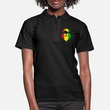 Africa Rastafari love Africa - Women's Polo Shirt