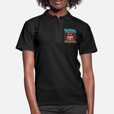 Read Read reading - Women's Polo Shirt