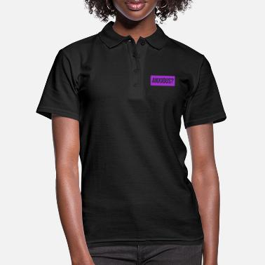 Anxious Anxious? Question english - Women's Polo Shirt