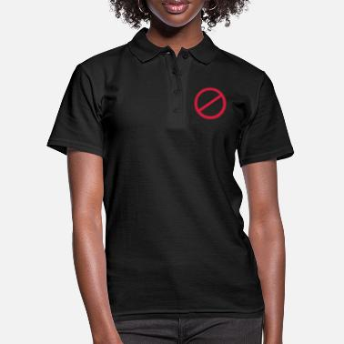 Signs NO sign - Women's Polo Shirt