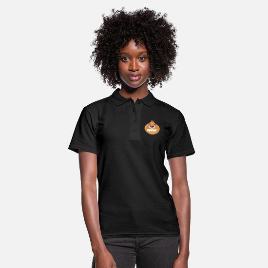 Brutal Polo Shirts - ugly onion - Women's Polo Shirt black