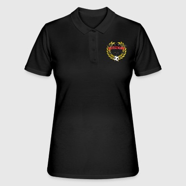 European Champion European Champion Germany 72 80 96 - Women's Polo Shirt