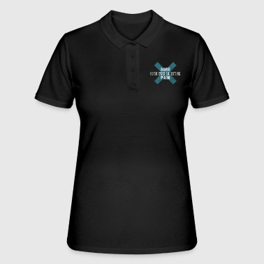 Diet Sore is the Most Satisfying Pain - Women's Polo Shirt