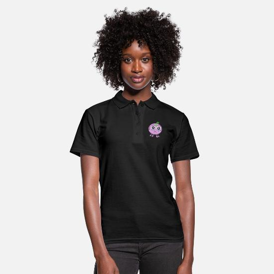 With Polo Shirts - Hugokö is sad and has to cry with googly eyes - Women's Polo Shirt black