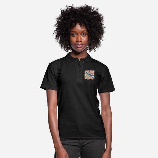 Gift Idea Polo Shirts - Clarinet orchestra gift instrument music - Women's Polo Shirt black