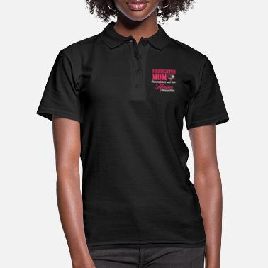 firefighter mom - Frauen Poloshirt