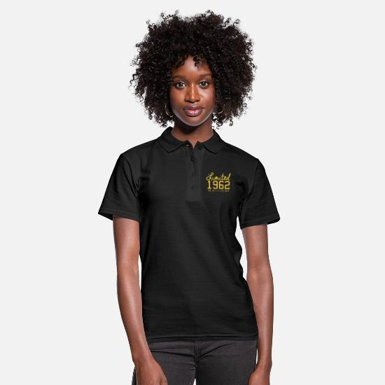 1962 Polo Shirts - Limited 1962 Edition - Women's Polo Shirt black