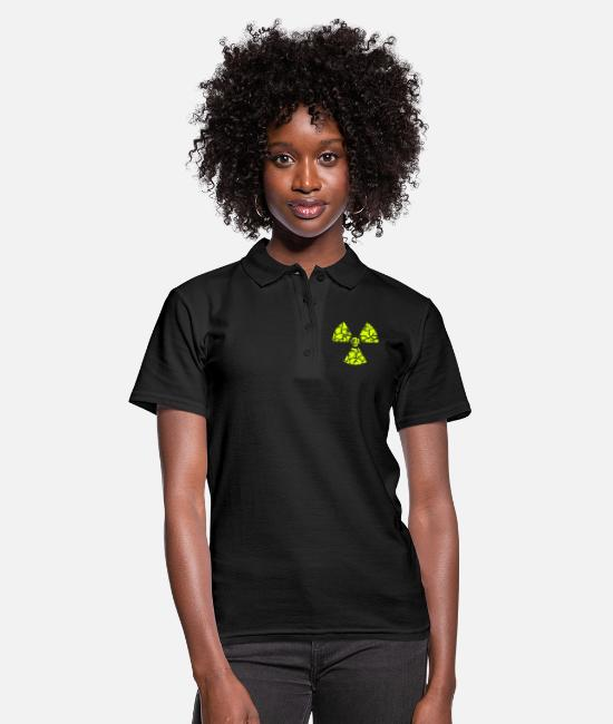Chernobyl Polo Shirts - against nuclear power - Women's Polo Shirt black