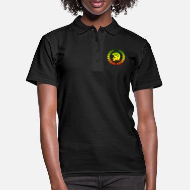 Rude Trojan reggae laurel - Women's Polo Shirt