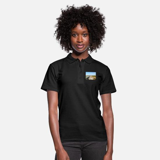 Nature Polo Shirts - Pier New England - Women's Polo Shirt black
