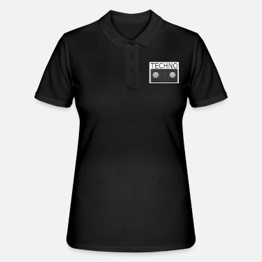 Turntable Techno Turntable - Women's Polo Shirt