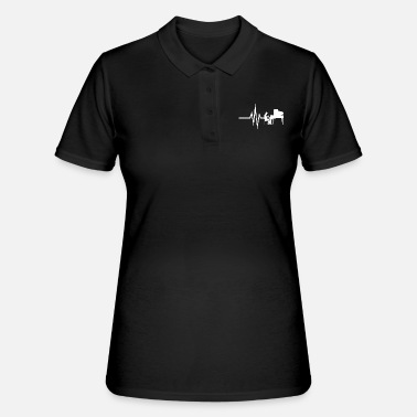 Piano Mon cœur bat pour Piano - Partitions Piano - Women's Polo Shirt