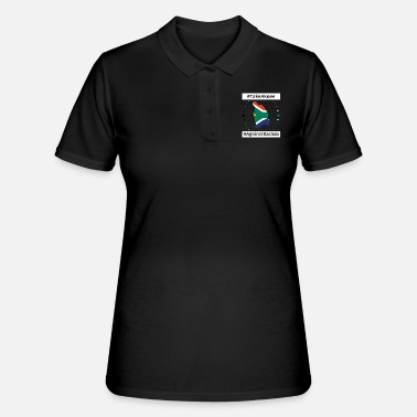 South take a knee football South Africa png - Women's Polo Shirt