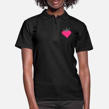 Romantic Heart Wedding romantic heart - Women's Polo Shirt