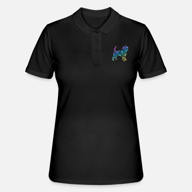Lover Dog Wuff Pet Gift Dogs Dog Lovers - Women's Polo Shirt