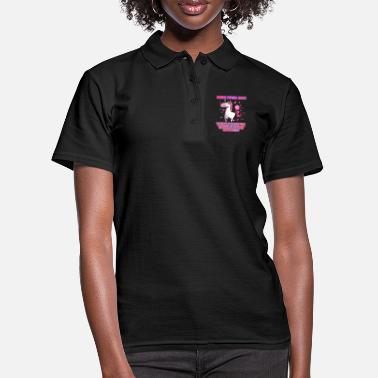 Unicorn Women do not fart - unicorn - Women's Polo Shirt
