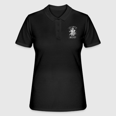Sailor Sailing boat ocean sailboat captain gift - Women's Polo Shirt