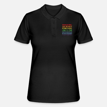 Political Issues Political issues - Human rights - Democracy - Women's Polo Shirt