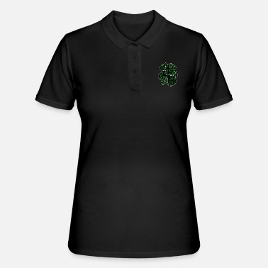 Goa DMT T-Shirt - Psy - Geometrie - Abstrakt - Design - Frauen Polo Shirt