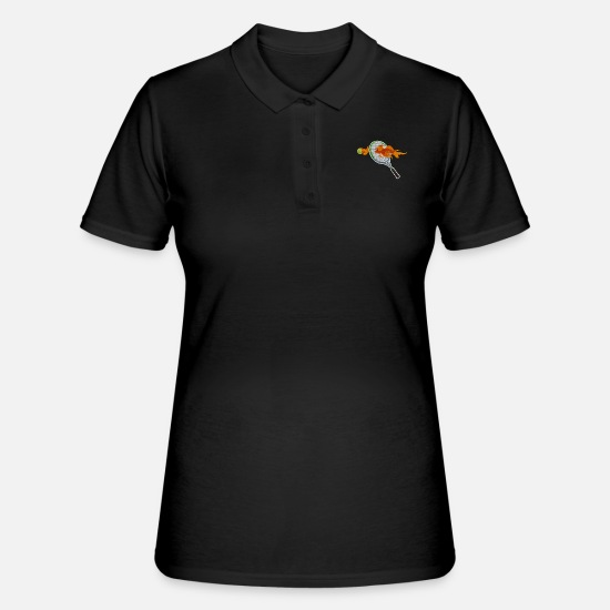 2019 Polo Shirts - Tennis tennis tournament gift - Women's Polo Shirt black