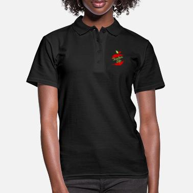 Teacher Life Gift Teaching Love Back To School 100 - Women's Polo Shirt