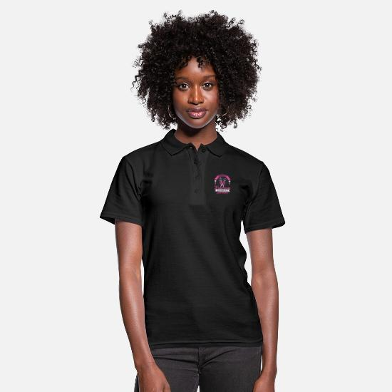 Gift Idea Polo Shirts - Barber scissors - Women's Polo Shirt black