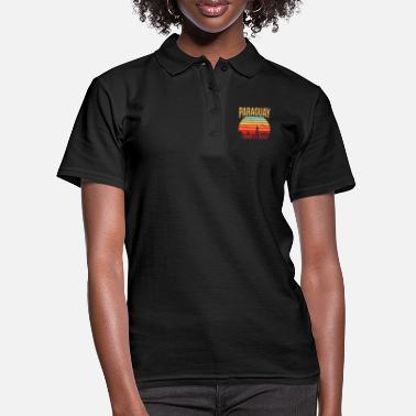 Turismo Paraguay América Travel Gift Idea - Camiseta polo mujer