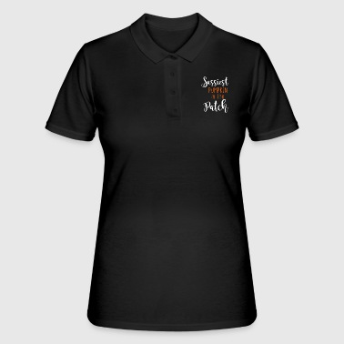 Grimmig Sassies pumpkin in the patch - Women's Polo Shirt