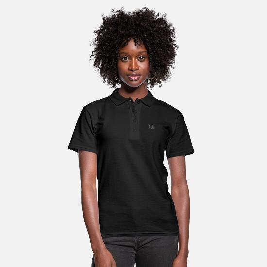 Gift Idea Polo Shirts - Tired sleepy - Women's Polo Shirt black