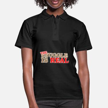 Snuggle The Snuggle Is Real - Women's Polo Shirt
