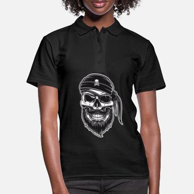 Pirates Pirate face mask mouth-nose mask - Women's Polo Shirt