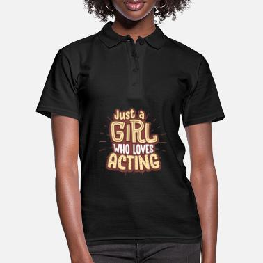 Actress actress - Women's Polo Shirt