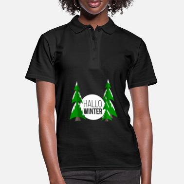 Winter Winter - Frauen Poloshirt