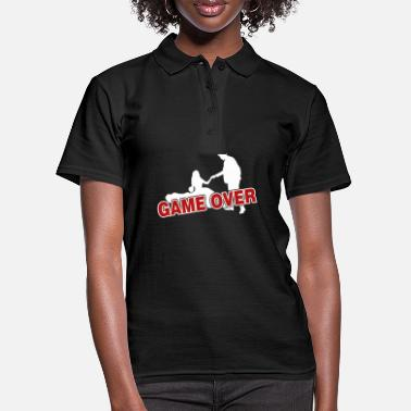 Game Over Game over - the game is over - Women's Polo Shirt