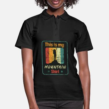 This is my Mountain Shirt - Women's Polo Shirt