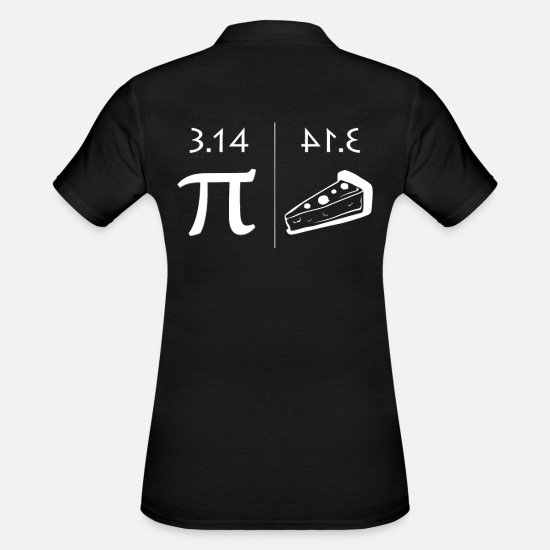 Funny Sayings Polo Shirts - maths - Women's Polo Shirt black