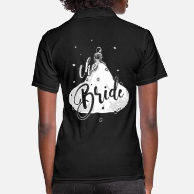 Bride 2reborn the bride bride team JGA wedding junggese - Women's Polo Shirt
