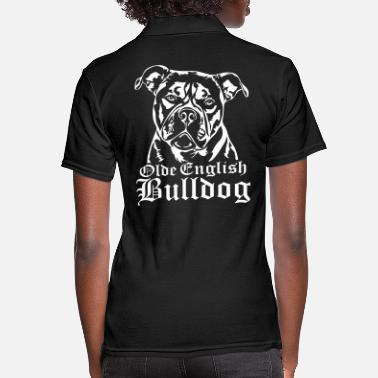 Bulldog Olde English Bulldog - Frauen Poloshirt