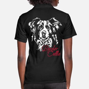 Border Border Collie - Frauen Poloshirt