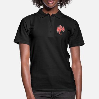 Chinois dragon chinois - Polo Femme